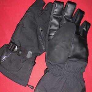 Spyder gore-Tex ski gloves